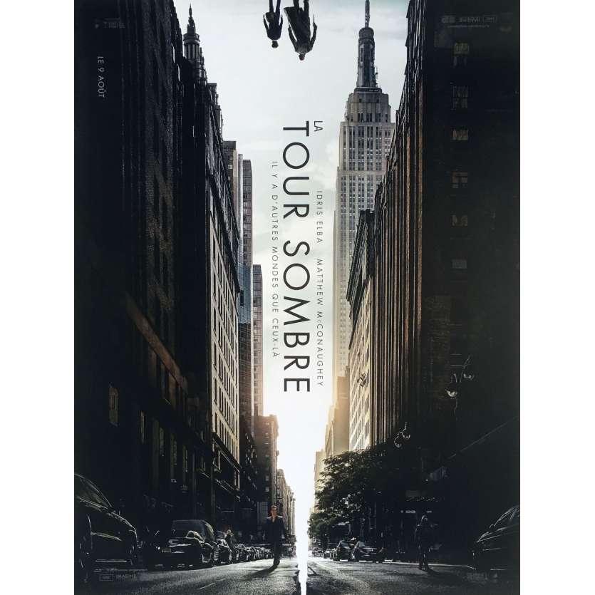 LA TOUR SOMBRE Affiche de film 40x60 cm - Adv. A 2017 - Matthew McConaughey, Nikolaj Arcel