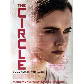 THE CIRCLE Movie Poster 15x21 in. - 2017 - James Ponsoldt, Emma Watson