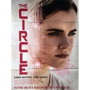 THE CIRCLE Affiche de film 120x160 cm - 2017 - Emma Watson, James Ponsoldt