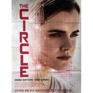 THE CIRCLE Movie Poster 47x63 in. - 2017 - James Ponsoldt, Emma Watson