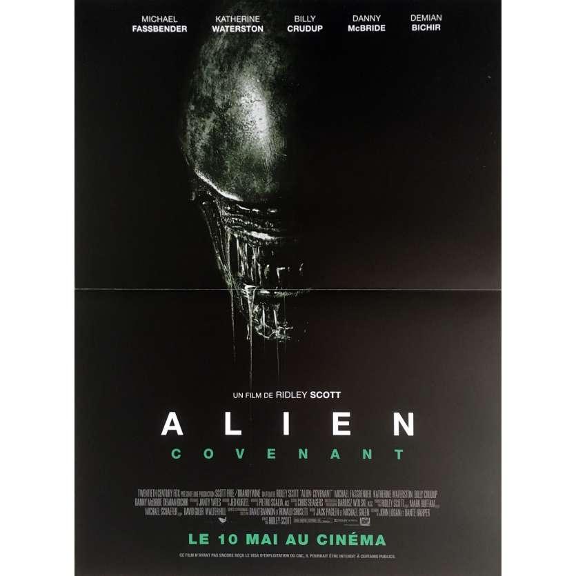 ALIEN COVENANT Affiche de film 120x160 cm - 2017 - Michael Fassbender, Ridley Scott