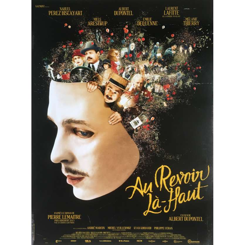 AU REVOIR LA HAUT Movie Poster 47x63 in. - 2017 - Albert Dupontel, Mélanie Thierry