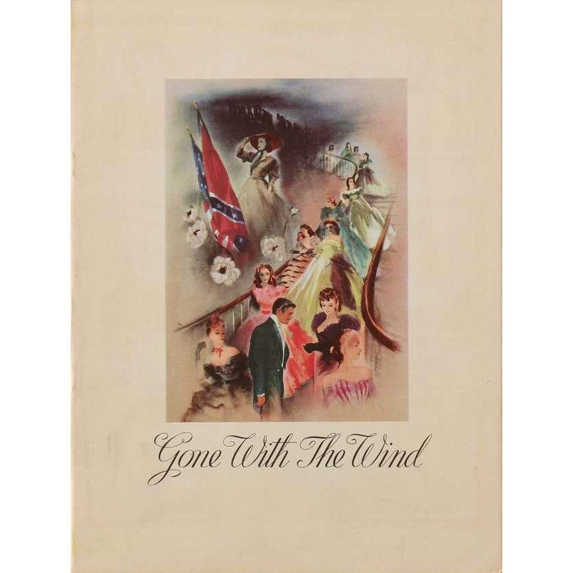 AUTANT EN EMPORTE LE VENT Dossier de presse 21x30 cm - 1939 - Clark Gable, Victor Flemming