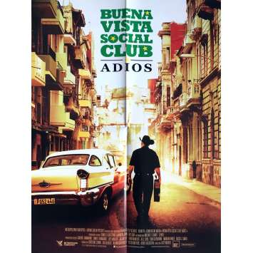 BUENA VISTA SOCIAL CLUB ADIOS Movie Poster 15x21 in. - 2017 - Lucy Walker, Ibrahim Ferrer