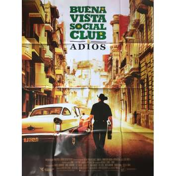 BUENA VISTA SOCIAL CLUB ADIOS Movie Poster 47x63 in. - 2017 - Lucy Walker, Ibrahim Ferrer