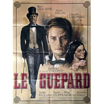 THE LEOPARD French Movie Poster 47x63 - 1963 - Luchino Visconti, Alain Delon
