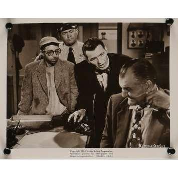 L'HOMME AU BRAS D'OR Photo de presse 20x25 cm - N04 1955 - Franck Sinatra, Otto Preminger