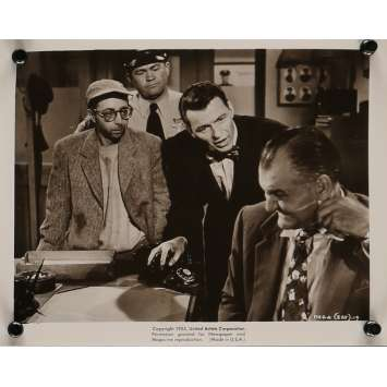 THE MAN WITH THE GOLDEN ARM Movie Still 8x10 in. - N04 1955 - Otto Preminger, Franck Sinatra