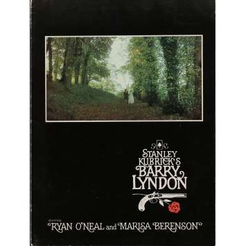 BARRY LYNDON Program 9x12 in. - R1980 - Stanley Kubrick, Ryan O'Neil