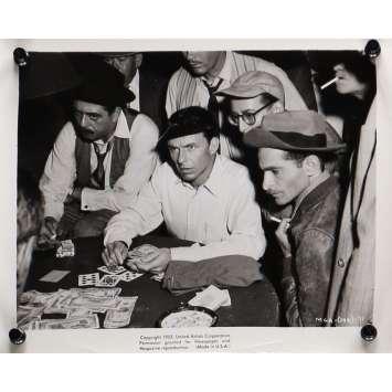 L'HOMME AU BRAS D'OR Photo de presse 20x25 cm - N01 1955 - Franck Sinatra, Otto Preminger