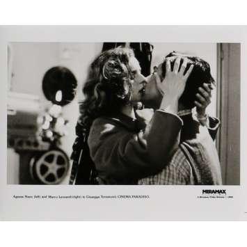 CINEMA PARADISO Photo de presse 20x25 cm - N06 1988 - Philippe Noiret, Giuseppe Tornatore