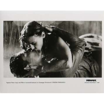 CINEMA PARADISO Photo de presse 20x25 cm - N04 1988 - Philippe Noiret, Giuseppe Tornatore