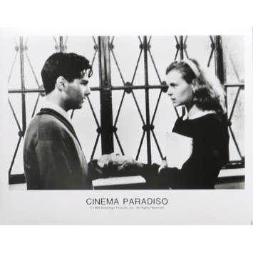 CINEMA PARADISO Photo de presse 20x25 cm - N02 1988 - Philippe Noiret, Giuseppe Tornatore
