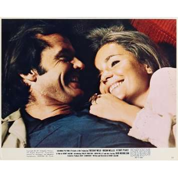 A SAFE PLACE Lobby Card 8x10 in. - N10 1971 - Henry Jaglom, Jack Nicholson, Thuesday Weld