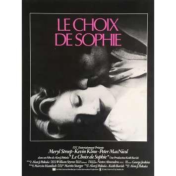 SOPHIE'S CHOICE Herald 9x12 in. - 1982 - Alan J. Pakula, Meryl Streep