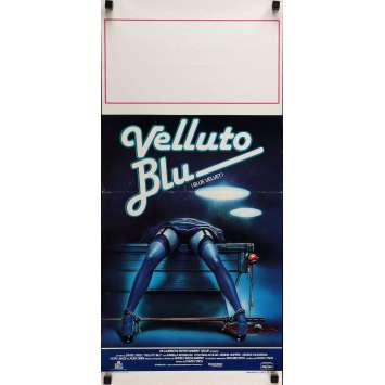BLUE VELVET Movie Poster 13x30 in. - 1986 - David Lynch, Isabella Rosselini