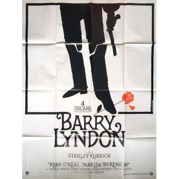 BARRY LYNDON Movie Poster 47x63 in. - Style A R1980 - Stanley Kubrick, Ryan O'Neil