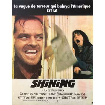 THE SHINING Movie Poster 15x21 in. - 1980 - Stanley Kubrick, Jack Nicholson