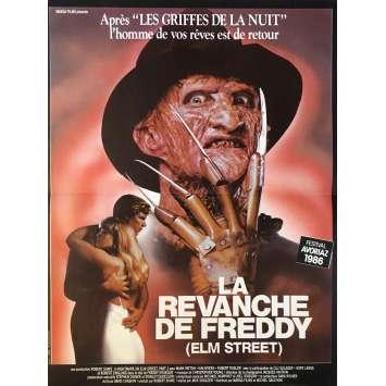 LA REVANCHE DE FREDDY Affiche de film 40x60 cm - 1985 - Robert Englund, Jack Sholder