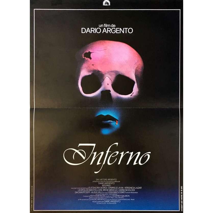 INFERNO Affiche de film 40x60 cm - 1980 - Daria Nicolodi, Dario Argento
