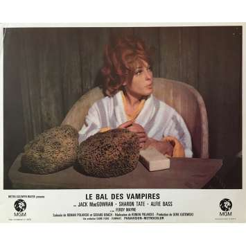 THE FEARLESS VAMPIRE KILLERS Lobby Card 9x12 in. - N01 1967 - Roman Polanski, Sharon Tate