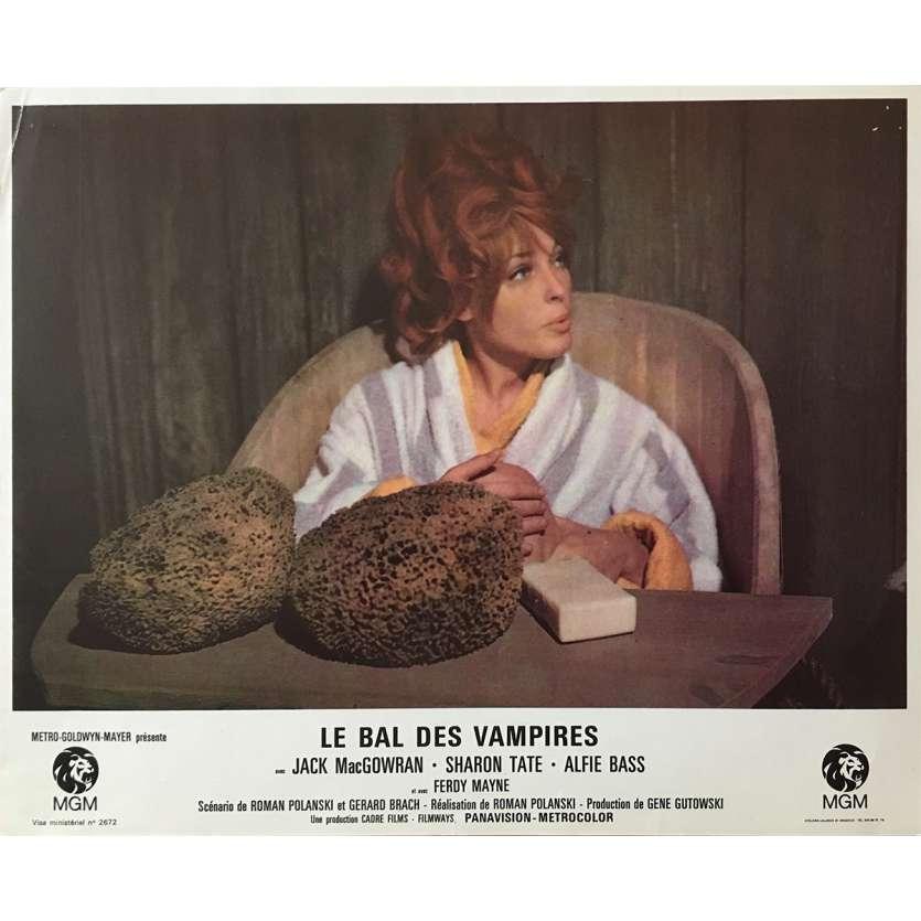 LE BAL DES VAMPIRES Photo de film 21x30 cm - N01 1967 - Sharon Tate, Roman Polanski