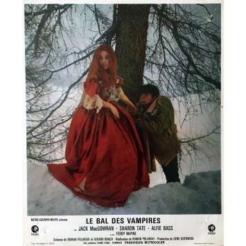 LE BAL DES VAMPIRES Photo de film 21x30 cm - N02 1967 - Sharon Tate, Roman Polanski