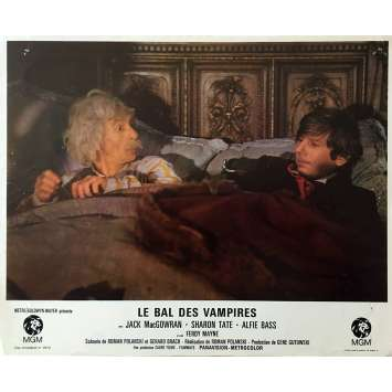 THE FEARLESS VAMPIRE KILLERS Lobby Card 9x12 in. - N04 1967 - Roman Polanski, Sharon Tate