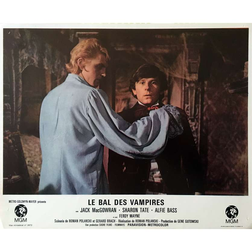 THE FEARLESS VAMPIRE KILLERS Lobby Card 9x12 in. - N05 1967 - Roman Polanski, Sharon Tate