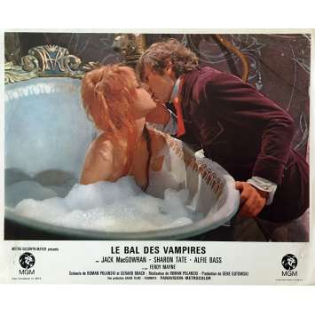 THE FEARLESS VAMPIRE KILLERS Lobby Card 9x12 in. - N09 1967 - Roman Polanski, Sharon Tate