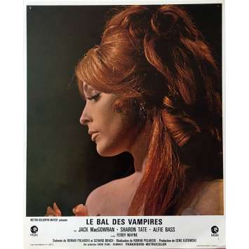 THE FEARLESS VAMPIRE KILLERS Lobby Card 9x12 in. - N08 1967 - Roman Polanski, Sharon Tate