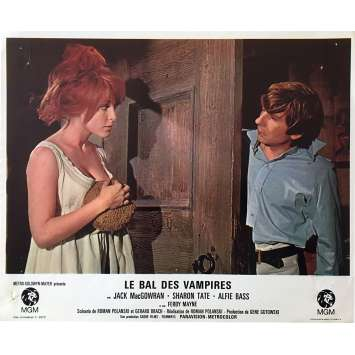 THE FEARLESS VAMPIRE KILLERS Lobby Card 9x12 in. - N10 1967 - Roman Polanski, Sharon Tate