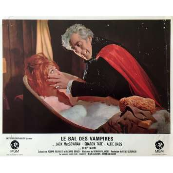 THE FEARLESS VAMPIRE KILLERS Lobby Card 9x12 in. - N11 1967 - Roman Polanski, Sharon Tate