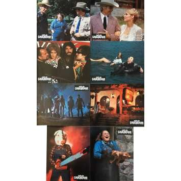 MOTEL HELL Lobby Cards 9x12 in. - x8 1980 - Kevin Connor, Rory Calhoun