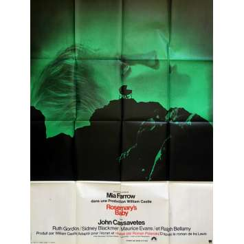 ROSEMARY'S BABY Movie Poster 47x63 in. - 1968 - Roman Polanski, Mia Farrow