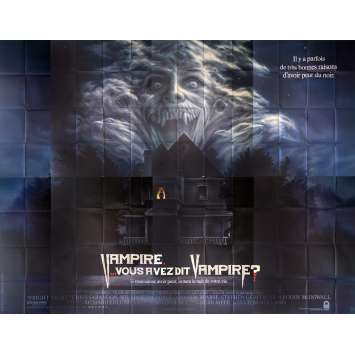 VAMPIRE VOUS AVEZ DIT VAMPIRE Affiche de film 400x300 cm - 1985 - Chris Sarandon, Tom Holland