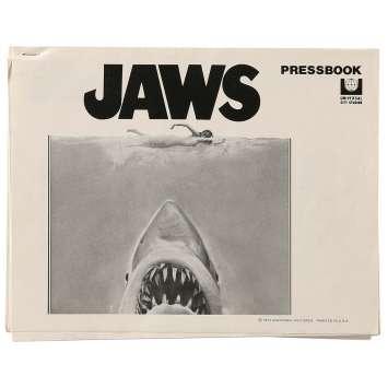 LES DENTS DE LA MER Dossier de presse US '75 Rare! Jaws Pressbook