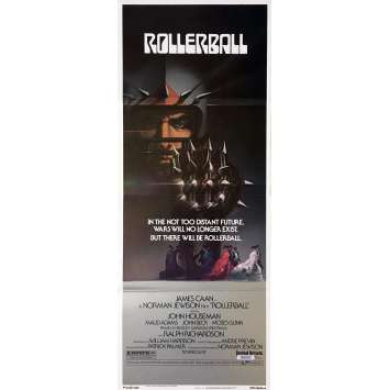 ROLLERBALL Movie Poster 14x36 in. - 1975 - Norman Jewinson, James Caan