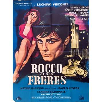 ROCCO AND HIS BROTHERS Movie Poster 47x63 in. - 1960 - Luchino Visconti, Alain Delon