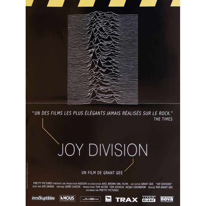 JOY DIVISION Affiche de film 40x60 - 2007 - Anton Corbjin, Grant Gee