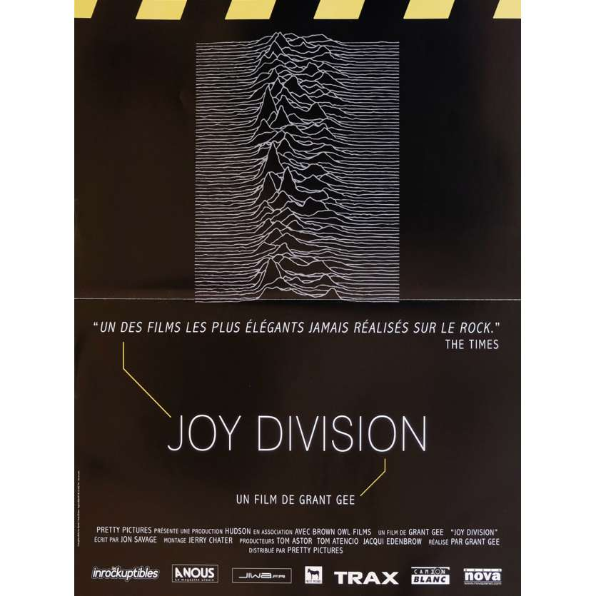 JOY DIVISION French Movie Poster 15x21 - 2007 - Grant Gee, Anton Corbjin