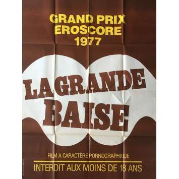 LA GRANDE BAISE Adult Movie Poster 47x63 in. - 1977 - Frédéric Lansac, Guy Royer