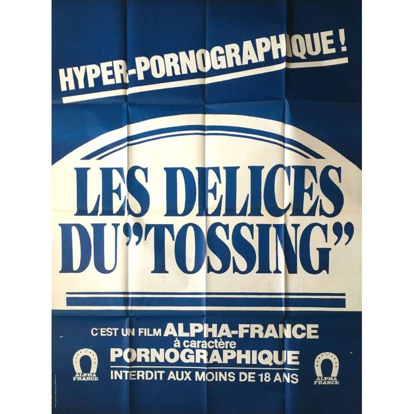 LES DELICES DU TOSSING Adult Movie Poster 47x63 in. - 1983 - Gérard Kikoïne, Catherine Greiner