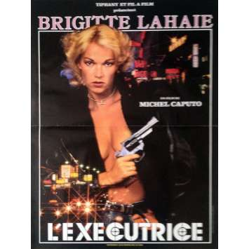 THE FEMALE EXECUTIONER Movie Poster 15x21 in. - 1986 - Michel Caputo, Brigitte Lahaie
