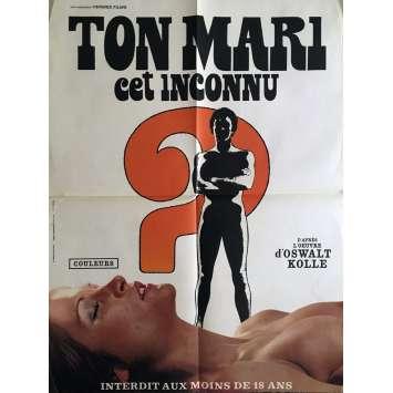 TON MARI CET INCONNU Movie Poster 23x32 in. - 1971 - Werner M. Lenz, Heidi Maien