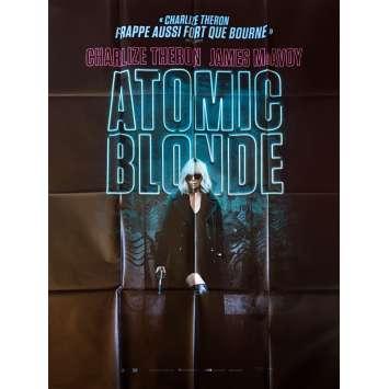 ATOMIC BLONDE Affiche de film - 120x160 cm. - 2017 - Charlize Theron, David Leitch