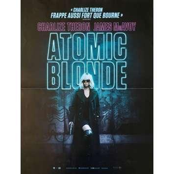 ATOMIC BLONDE Affiche de film - 40x60 cm. - 2017 - Charlize Theron, David Leitch