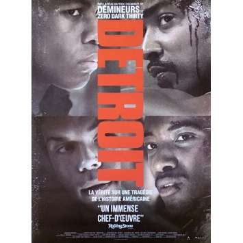 DETROIT Movie Poster - 15x21 in. - 2017 - Kathryn Bigelow, John Boyega