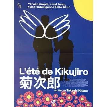 L'ETE DE KIKUJIRO Affiche de film Mod. Blue - 40x60 cm. - 1999 - Yusuke Sekiguchi, Takeshi Kitano