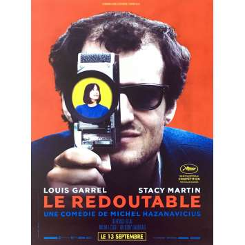 REDOUBTABLE Movie Poster - 15x21 in. - 2017 - Michel Hazanavicius, Louis Garrel